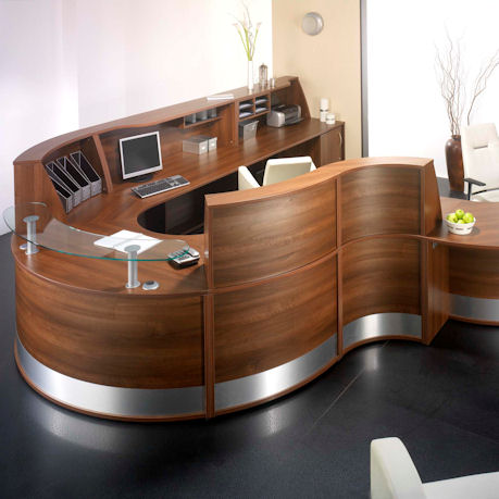 KOS Reception Counter