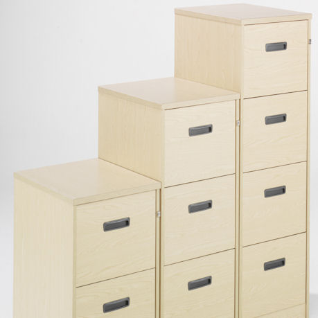 Wooden Filing Unit